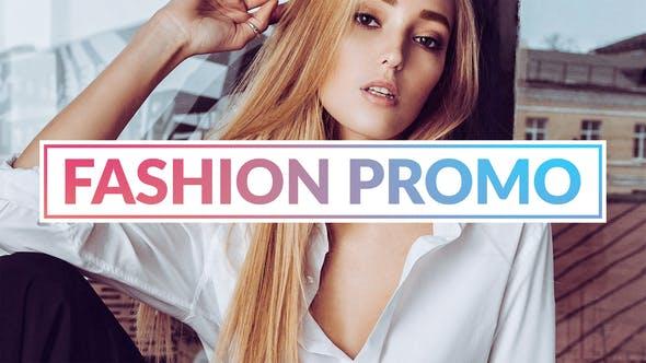 FCPX模板-时尚轻快炫光数字故障图文切换展示介绍 My Style Fashion Promo插图