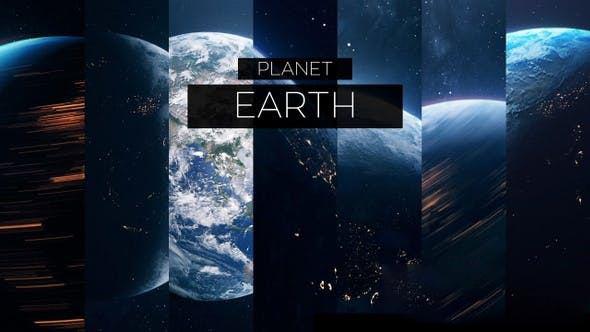 真实地球旋转高清视频素材 Planet Earth 7 Clips Pack插图