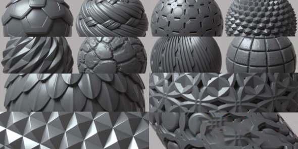 无缝连接深度置换纹理贴图材质素材 Gumroad插图